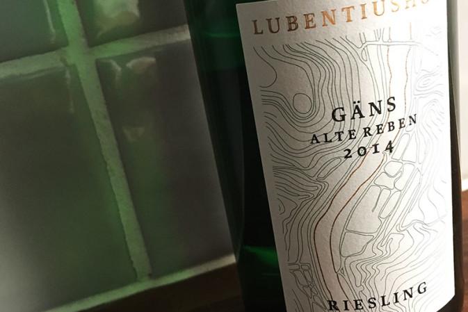 Weingut Lubentiushof, Gondorfer Gäns Alte Rebe 2014 (Allemagne, Mosel, Niederfell)