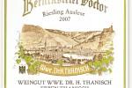 Berncasteler Doctor Riesling Spätlese 2009 trocken (1006) by Wwe Dr. H. Thanisch – ErbenThanisch