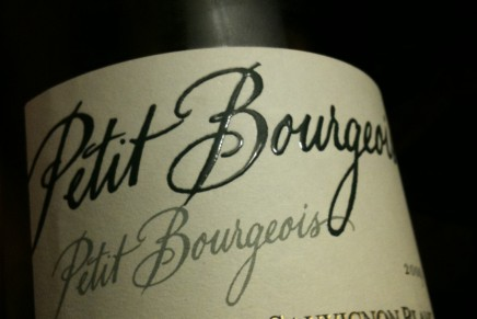Quick review : Petit Bourgeois 2009 by Henri Bourgeois (France, VDP de la Loire)