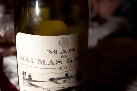 Daumas Gassac Rouge 2003 by Mas de Daumas Gassac (France, Languedoc)
