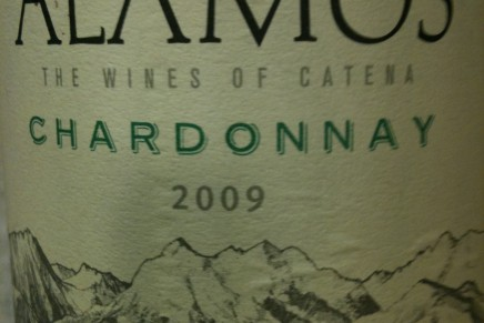 Alko's: Alamos Chardonnay 2009 by Catena (Argentina, Mendoza)