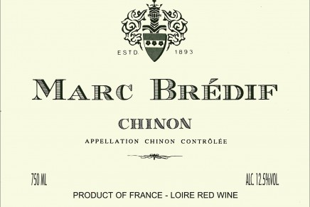 Quick review : Chinon 2008 by Marc Brédif (France, Chinon)