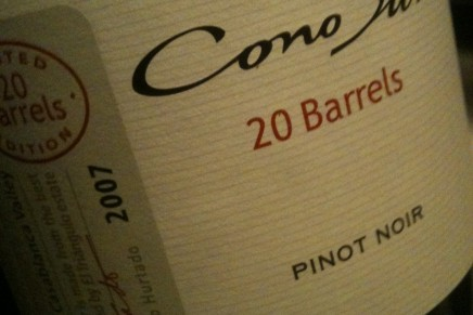 Cono Sur, 20 Barrels Pinot Noir 2007 (Chili, Casablanca Valley)