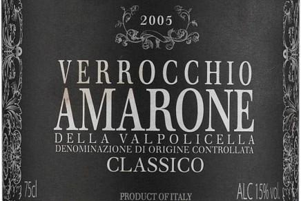 Verrocchio, Amarone della Valpolicella Classico 2008 (Italie, Veneto)