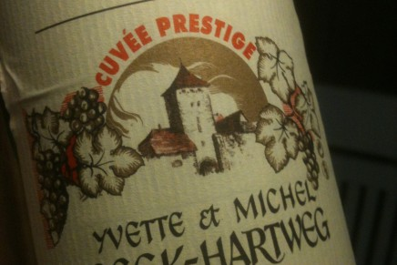 Riesling Prestige 2010 by Domaine Beck-Hartweg (France, Alsace)