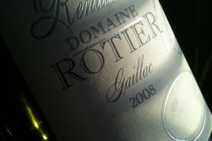 Quick review : Renaissance Blanc 2008 by Domaine Rotier (France, Gaillac)