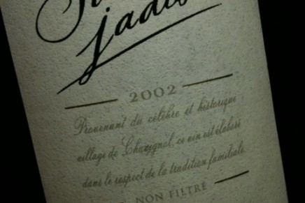 Sancerre Jadis 2002 by Domaine Henri Bourgeois (France, Sancerre)
