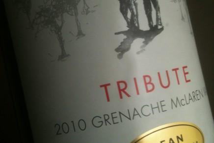 ALKO: Tribute Grenache 2010 by Dean Hewitson (Australia, McLaren Vale)