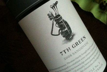 Quick review : 7th Green Sangiovese 2008 by Hardy's (Australie, South Australia)