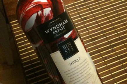 Shiraz Bin 555 2008 by Wyndham Estate (Australie, South Eastern Australia)