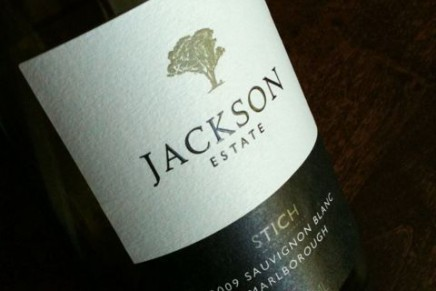 Quick review : Sauvignon Blanc Stich 2009 by Jackson Estate (NZ, Marlborough)